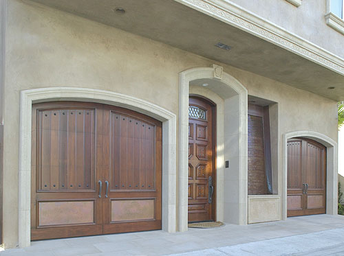 Custom Wood Doors Overhead Door Company Of Houston