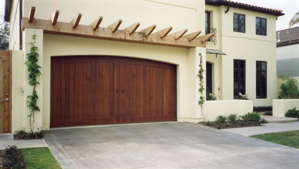 Custom Wood Doors Overhead Door, Wood Garage Doors Houston