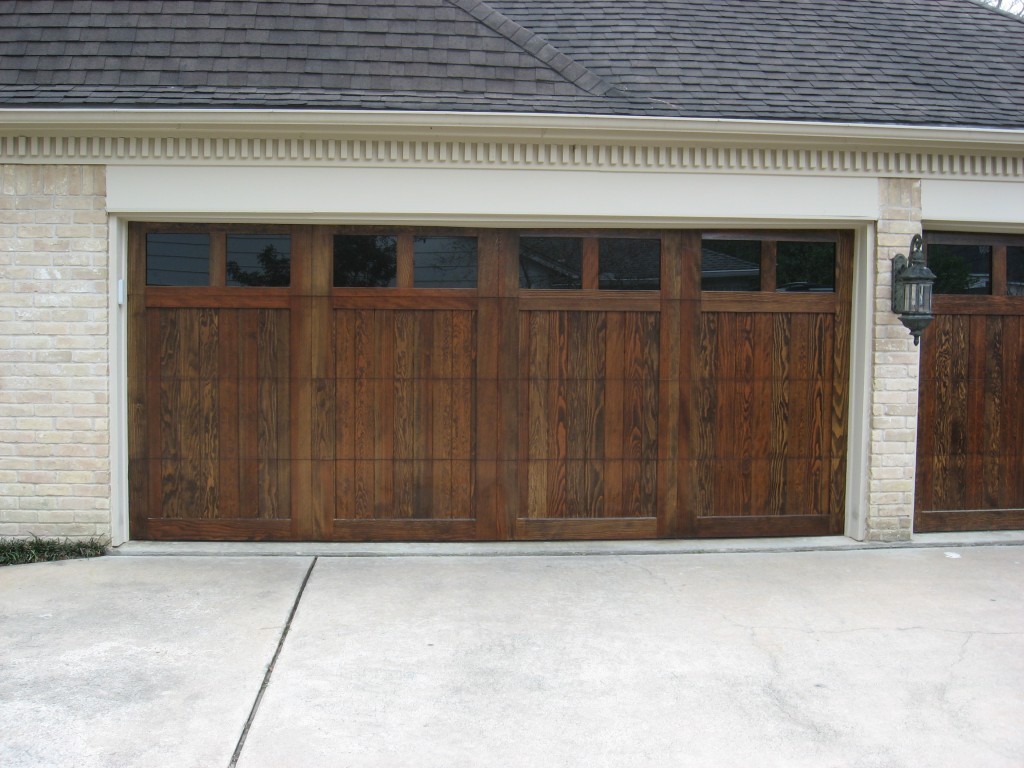 768 #604330 Custom Wood Doors Overhead Door Company Of Houston image Overhead Garage Doors Residential Reviews 37131024