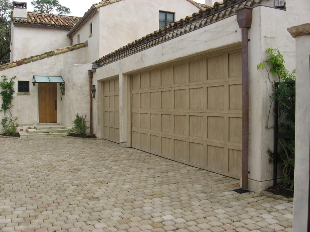 768 #4D5D34 Custom Wood Doors Overhead Door Company Of Houston image Wood Garage Doors Houston 35931024