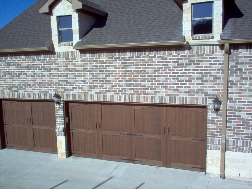 768 #1E60AD Custom Wood Doors Overhead Door Company Of Houston image Wood Garage Doors Houston 35931024