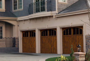 signature carriage style door