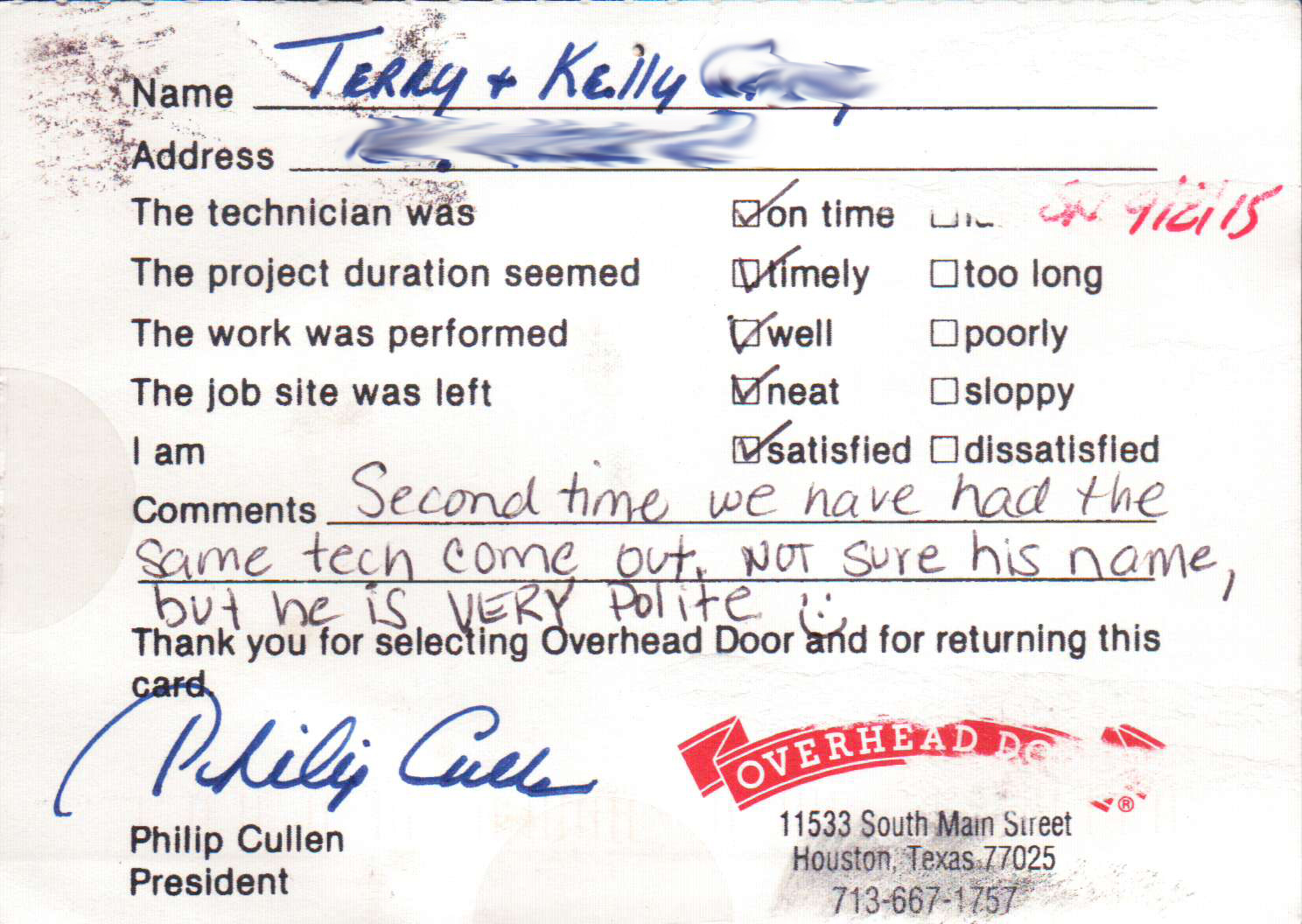 Terry & Kelly