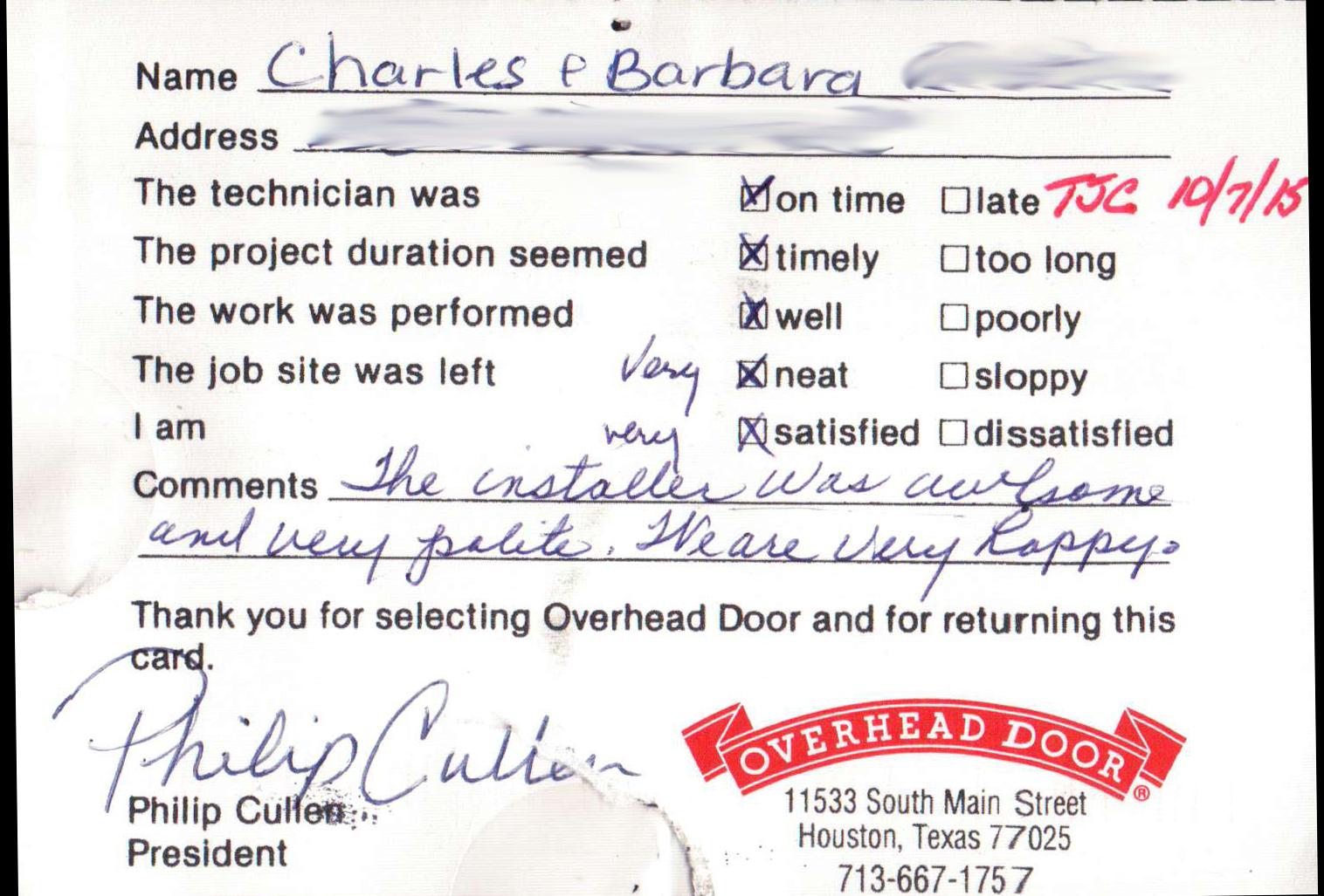 Charles and Barbara